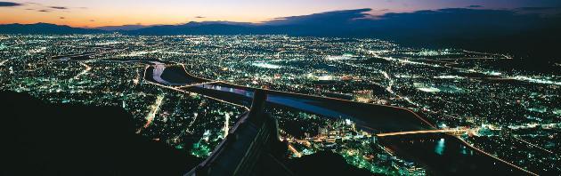 岐阜城夜景