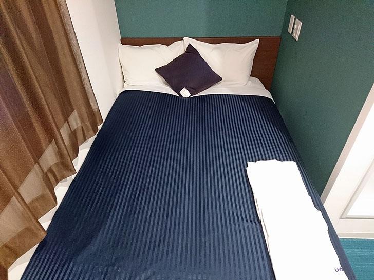 ホテルリブマックスのベッド