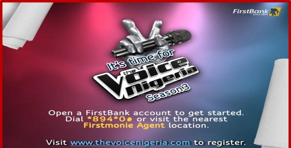 How 6 finalists will emerge from FirstBank's sponsored The Voice Nigeria  Season 3 - Sunrise News