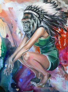 The Indian Kong and the Bronze Scarpino - Sandra Chevrier