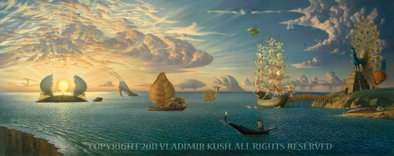 Mythology - Vladimir Kush