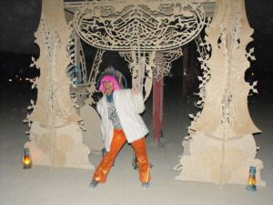 Judie having fun on the Playa.  Can't wait for Burning Man 2013.