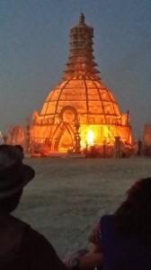 Temple Burn underway