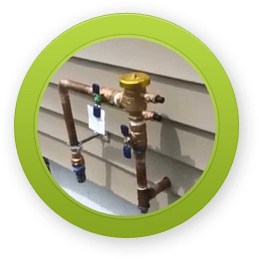 Irrigation System Backflow Check