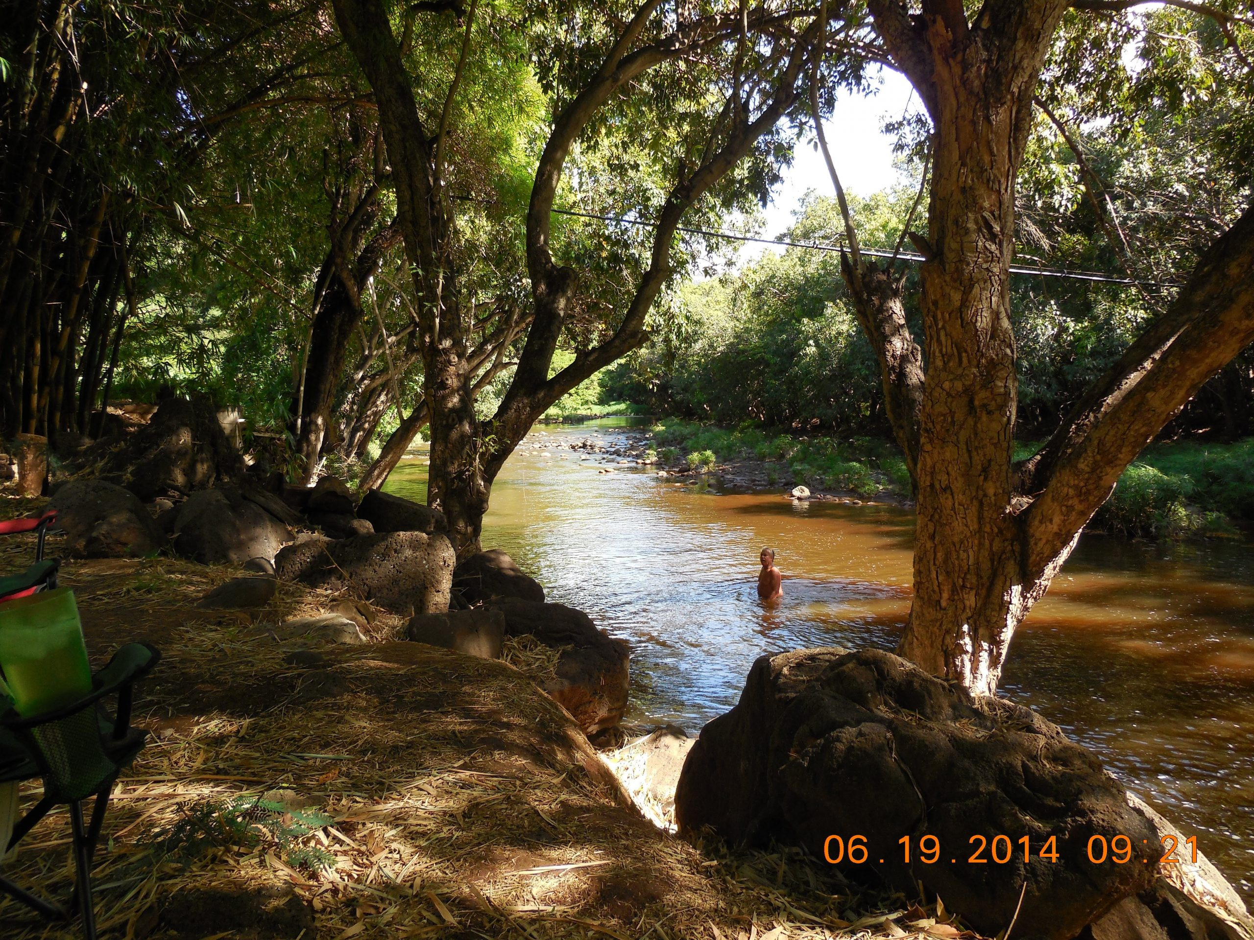 River in front yard 2