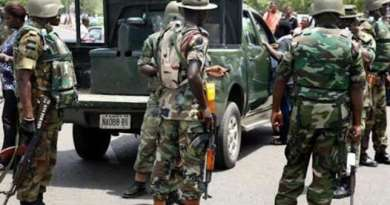 Breaking: Soldier commits suicide after shooting to death 4 of his colleagues in Maiduguri