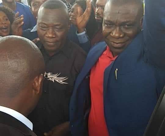 Rousing Welcome for Ekweremadu As He Arrived Nigeria After IPOB Beating (Photos)