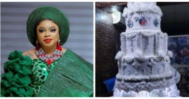 Bobrisky showed off his expensive birthday cake (photo)