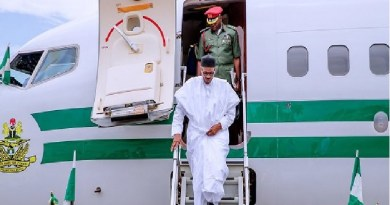 Buhari leaves Abuja for Russia today