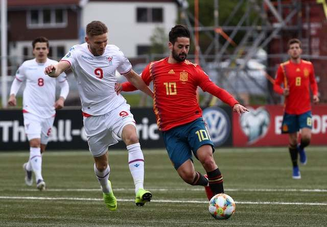 Watch Spain vs Faroe Island Live Streaming