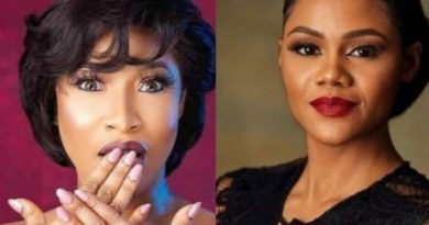 Tonto Dikeh blasts Busola Dakolo For Demanding N10million From Pastor Fatoyinbo