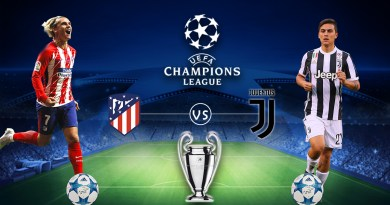 UEFA CL: Where to watch Atl. Madrid vs Juventus Live