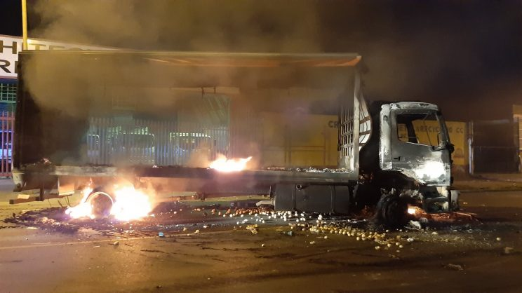Happening Now: Massive Attacks in CBD, Joburg (PHOTOS)