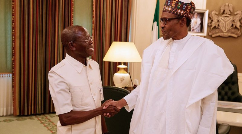 Oshiomhole opens up about who are behind his ordeal, after meeting with Buhari