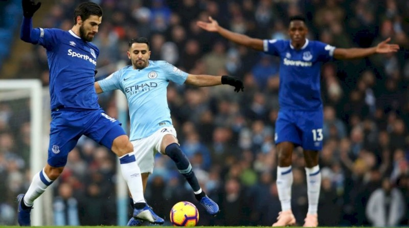 EPL: Watch Everton vs Manchester City Live Streaming