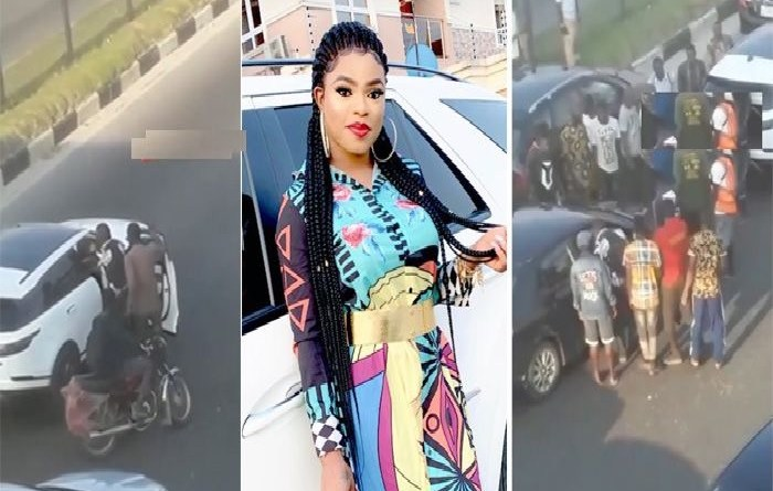 Man who fought Bobrisky in traffic apologises, you must sleep in cell Bobrisky replies