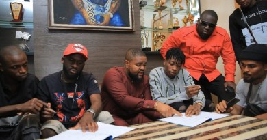 Breaking: Davido signs Lil Frosh to DMW record