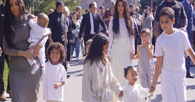 Kim Kardashian baptises her Children in Armenian homeland