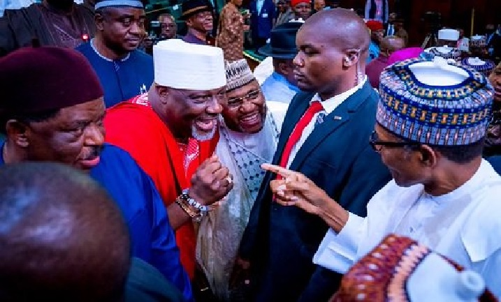 Revealed: What Buhari told Melaye after budget presentation in Abuja