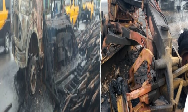 22 cars, 8 Houses Burnt in latest Onitsha fuel tanker explosion