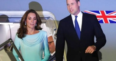Prince William and Kate's plane in emergency landing in Pakistan