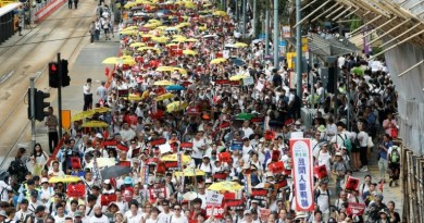 Protest in Hong Kong, Parliament suspended