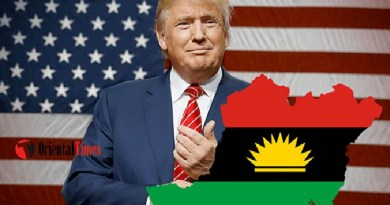 Biafra will be separated Soon, just like other countries did – Donald Trump