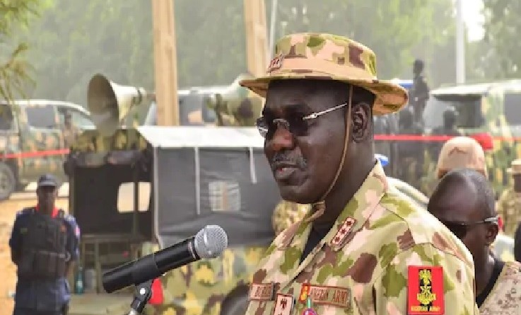 Video: Soldiers in tears, curse Buratai after Boko Haram attacked them