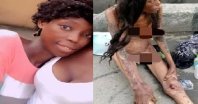 Beautiful new look of naked, emaciated lady seen in Ajah after rehabilitation [Photos]