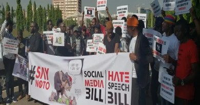 Social Media Bill: Protesters shut down National Assembly