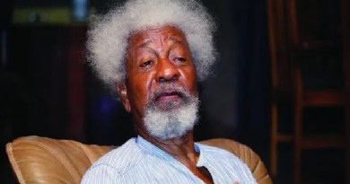 Prof. Soyinka describes operation Amotekun as a desirable New Year gift