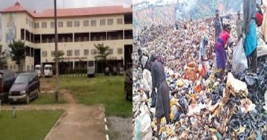 Lagos general Hospital 'too close' to dumpsite -Patients, others cry out