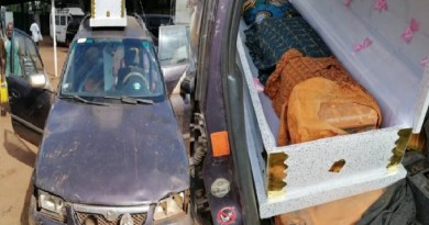 Smugglers conceal 385 litres of petrol in caskets (Photos)
