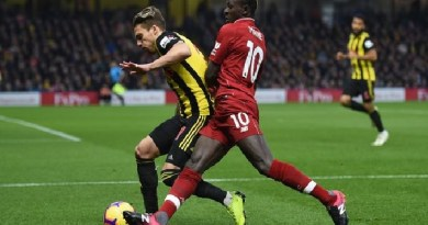 Watford hammer Liverpool, ends 18 matches unbeaten run