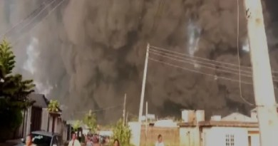 UPDATE: Pipeline explosion hits Diamond Estate in Lagos, 1 burnt to death (Photos)