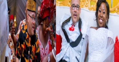 American man came to Enugu State to wed a Nigerian lady (Photos)