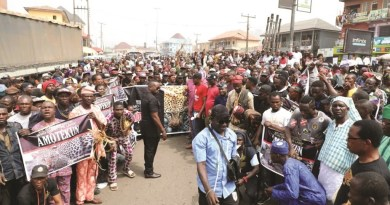 Heavy protests rock Southwest States over Amotekun (Photos)