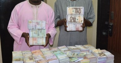 Two Hausa men arrested with N45 million fake notes in Abuja (Photo)