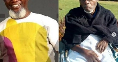 Nigerians react at the sick photos of popular actor, Victor Olaotan
