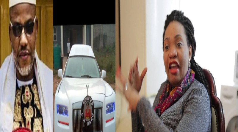 Nnamdi Kanu's wife, Uchechi sends powerful message over her husband's Parents' burial