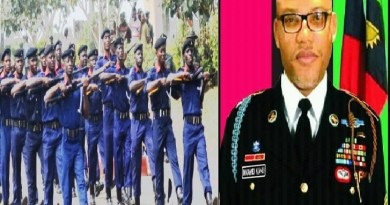 NSCDC sends message to Afaraukwu, Nnamdi Kanu family over burial