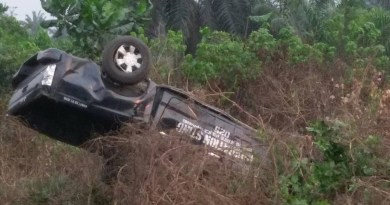 Just In: Police officers die while chasing a vehicle (photos)