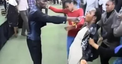 Fiction: Popular pastor anoints a lady to death during Church service