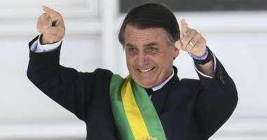 President Bolsonaro of Brazil, tests positive for Coronavirus