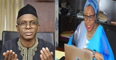 COVID-19: Nigerians react as El-Rufai's wife, begs for prayers for her husband