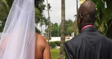 Nigerian man says no to wedding vows, storms out during church wedding