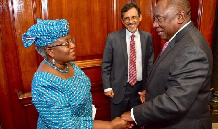 South Africa hires Okonjo-Iweala, to end recession with her experience (Photos)