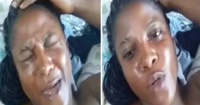 Lockdown: I am starving, I need a man to have $€x with me – Nigerian lady cries out (video)