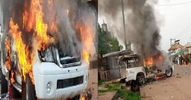 Abia burns as angry youths clash with police