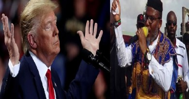 IPOB America chapter in solidarity support for Trump re-election